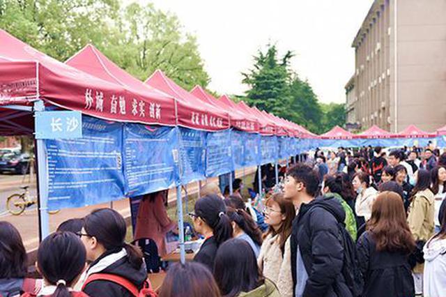 @在湘高校毕业生 这场招聘会提供15263个岗位