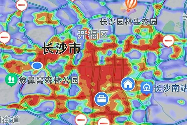 热力图丨国庆长假 长沙哪里最hot