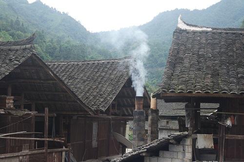 炊烟袅袅,侗寨淳朴