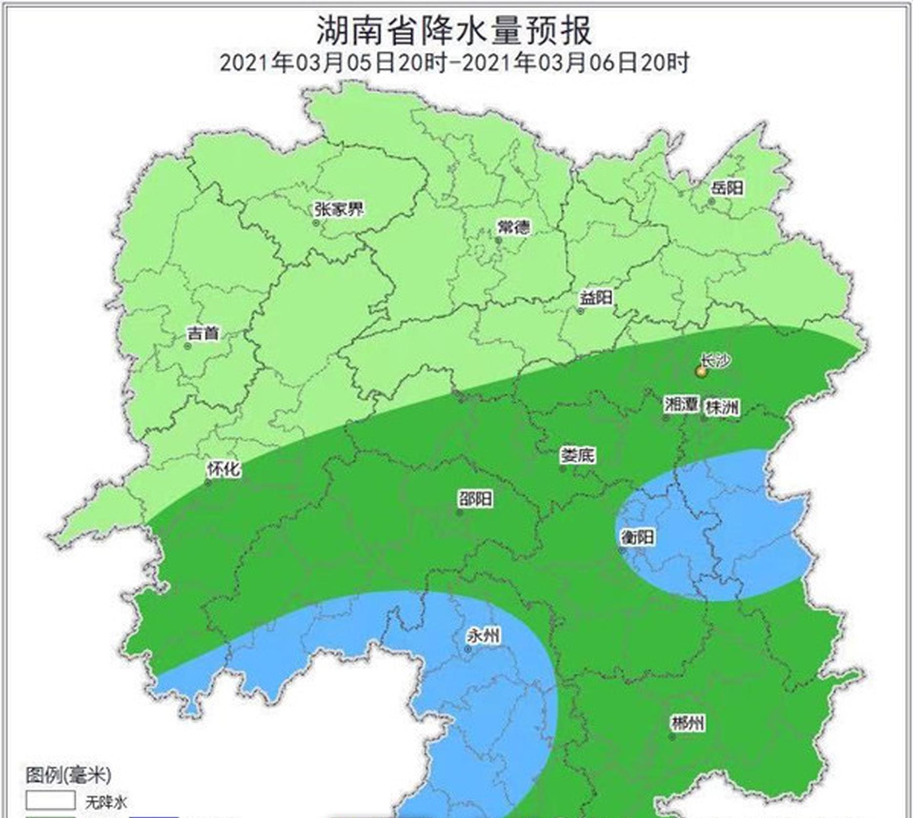 注意!湖南将现本年首次强对流天气,预计5日暴雨抵达湘南