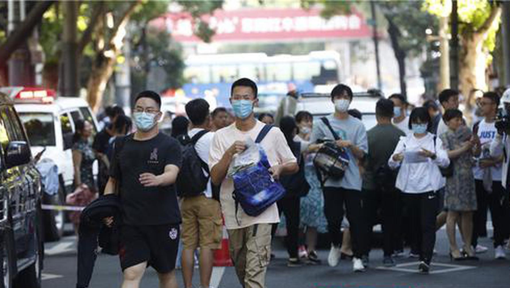 组图|湖南40.02万考生,已带着梦想奔赴考场!