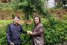 国际大师刘海平看中雪峰山大花瑶