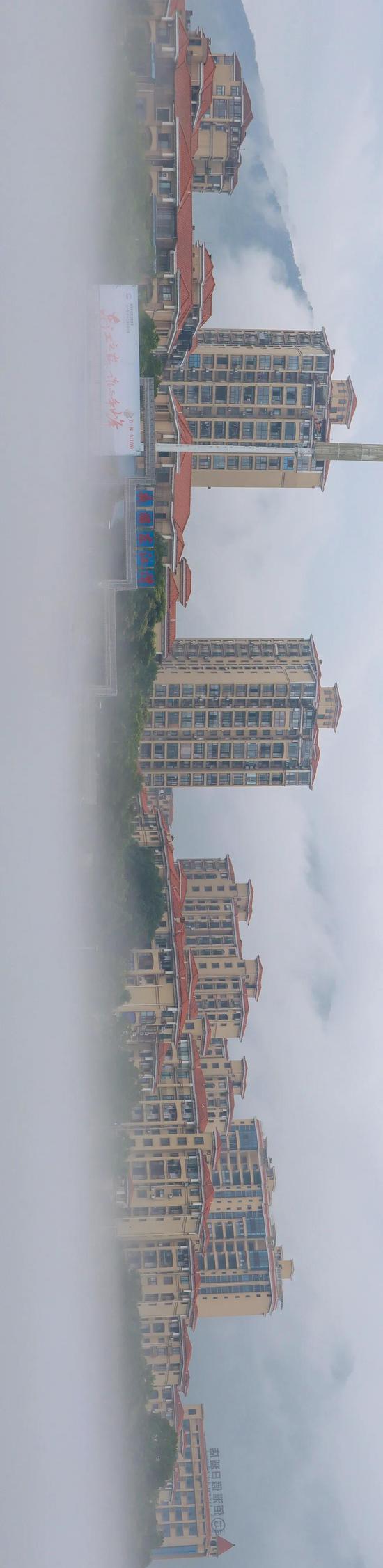 资兴城区全景 周水清 摄