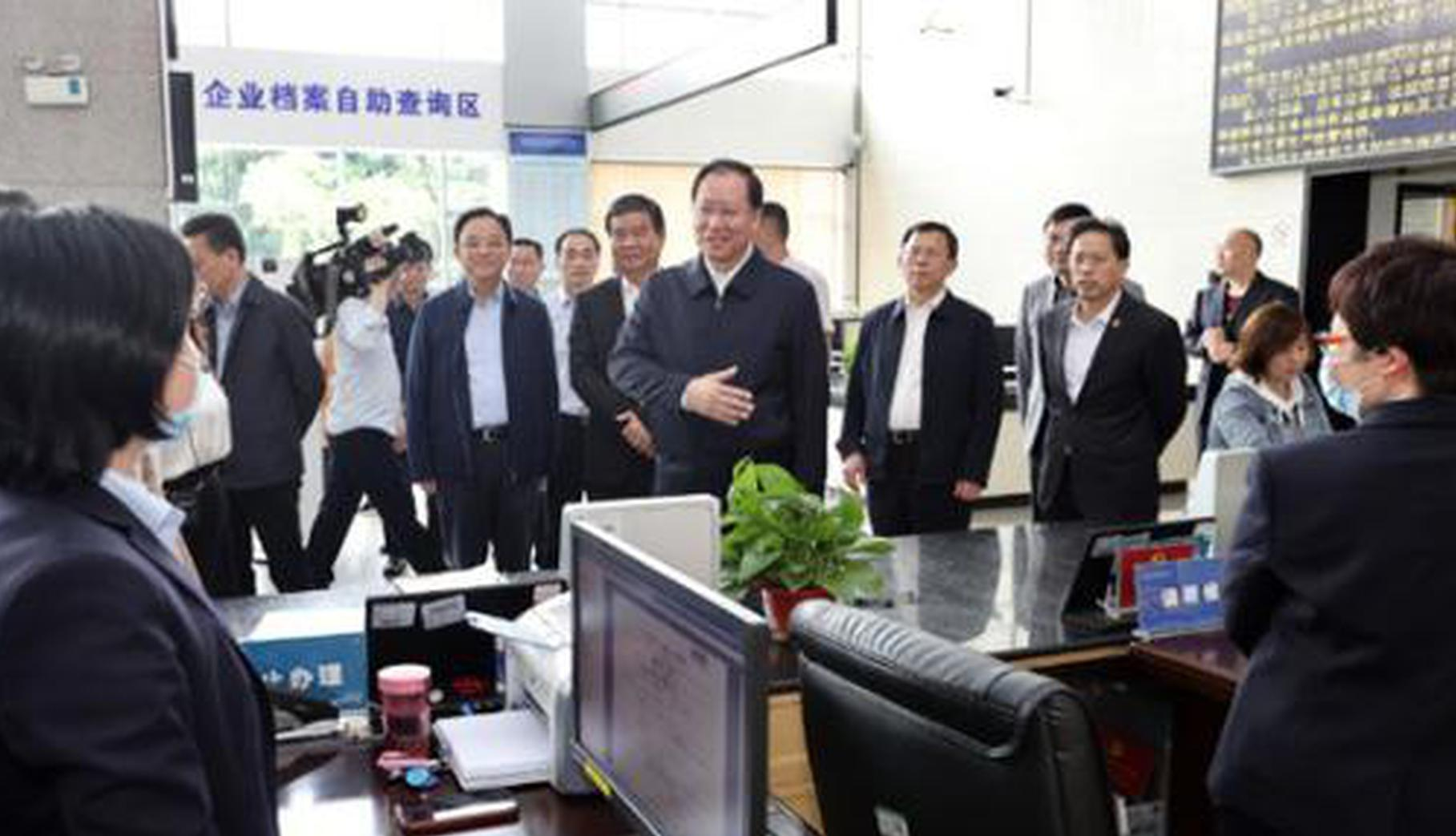 毛伟明在省市场监管局调研:为高质量发展高水平治理高品质生