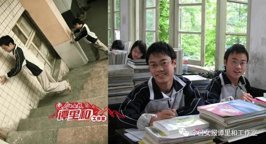 12年前,在益阳市安化县艰难求学的兄弟俩