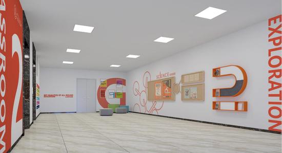 广益国际独具创意的展示空间