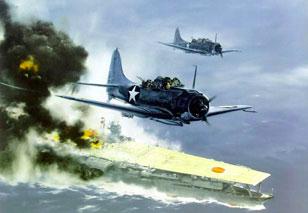 中途岛海战 日军惨败