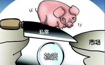 衡东县:为私屠滥宰提供场所 顶格处罚