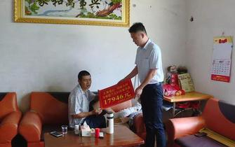 暖!郴州某村野猪撞伤村民 当地群众献爱心救助