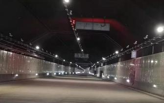 最新消息!衡阳首条过江隧道15日进行通车综合调试