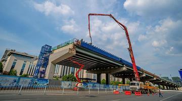 一组图见证长沙湘府路快速化改造