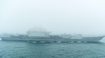 航拍组图|别眨眼 海上阅兵现场高清大图震撼来袭!