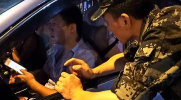 """郴州武警官兵遇到""""军人免费""""出租车"""
