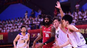 全国男子篮球联赛:湖南勇胜拿下首胜