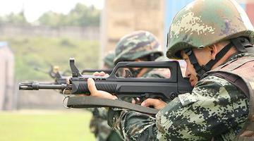 实战化练兵再上新台阶 武警湖南总队举办机动分队大比武