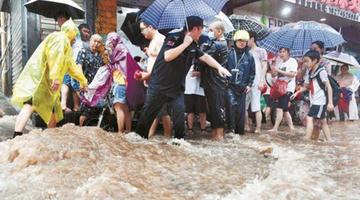 洪魔肆虐下的湖南担当