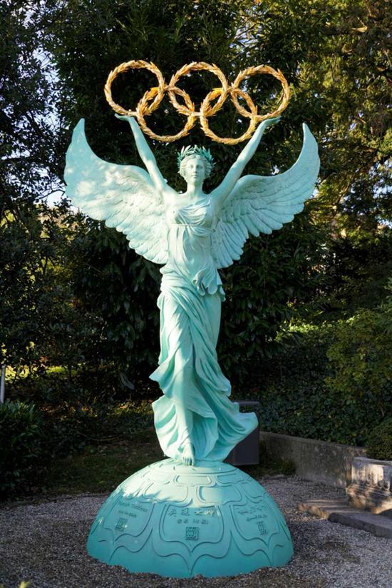 《奥运女神》黄剑