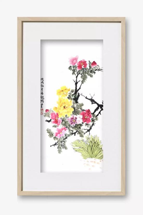 1814 汤骏阳 《花开富贵》