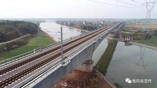 台源蒸水桥路段