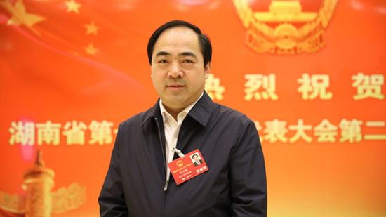 湖南省人大代表、株洲市委副书记、市长阳卫国