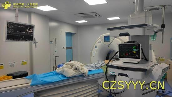 术前扫描定位
