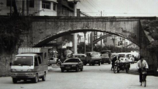 1996年修建在浏阳城外集里桥的醴浏铁路铁桥