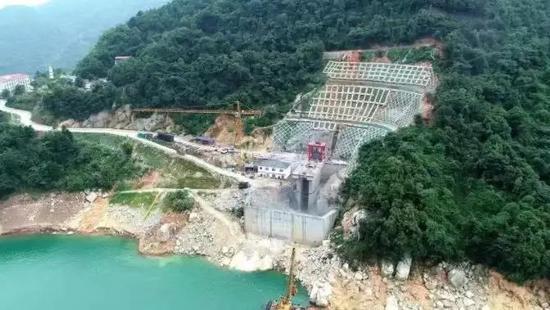 东江引水工程取水口