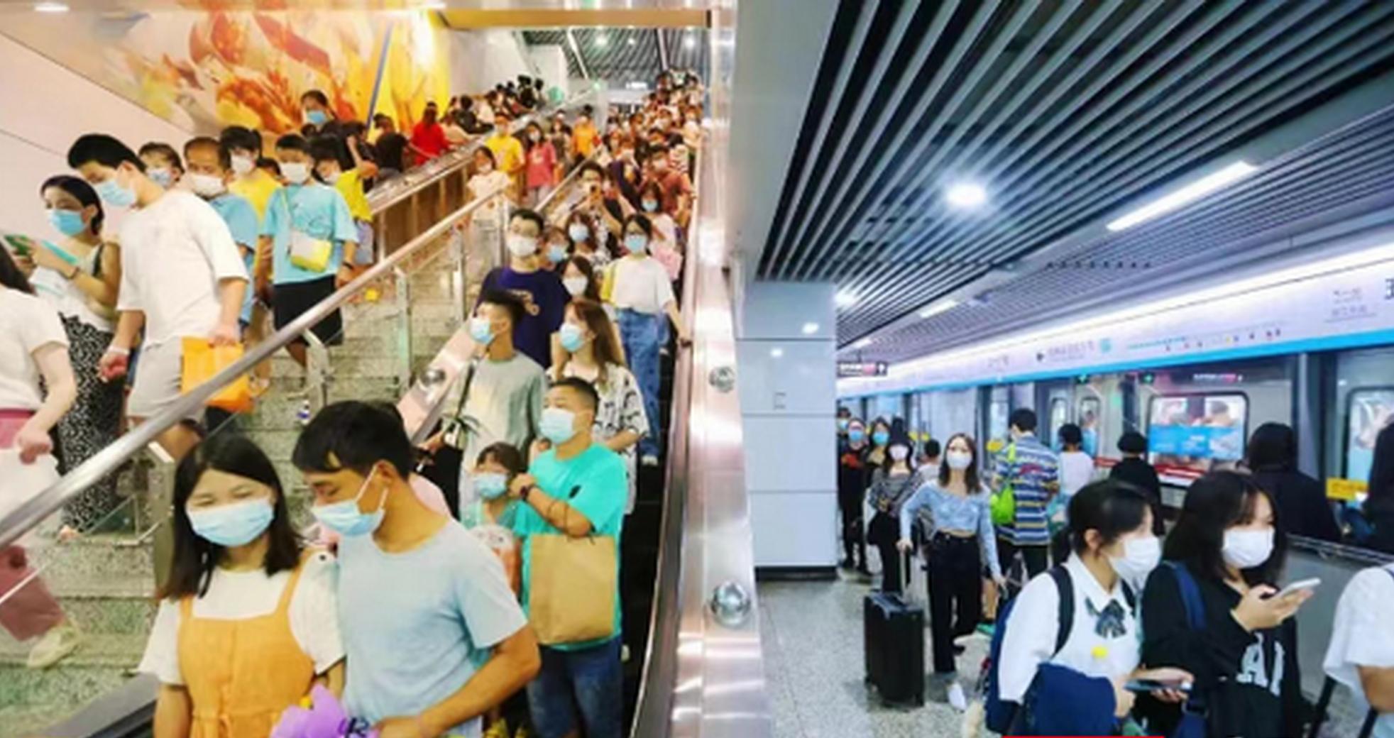 两天460.6万人次,长沙地铁国庆迎客流高峰