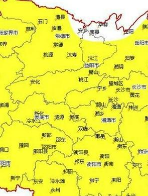 2日起至5日湖南大部晴热在线,最高气温将达38 ℃