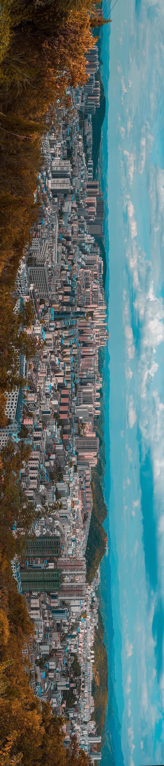 桂阳城区全景 周水清 摄