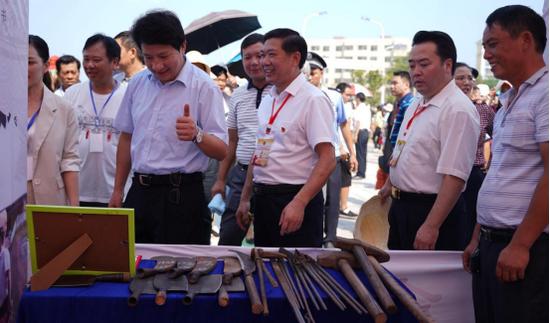 永州市委副书记、市长何录春出席活动