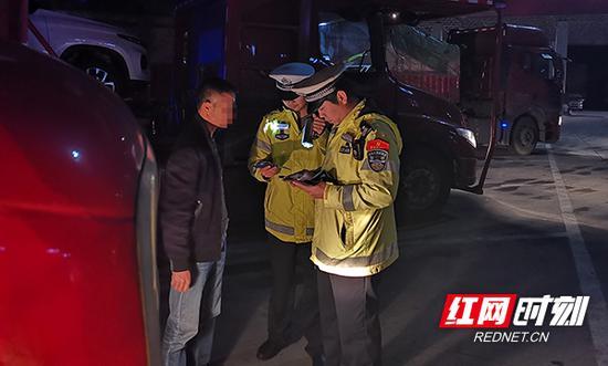 """4月1日至4月15日,省高警局衡阳支队开展""""两客一危一货""""车辆违法整治行动。"""