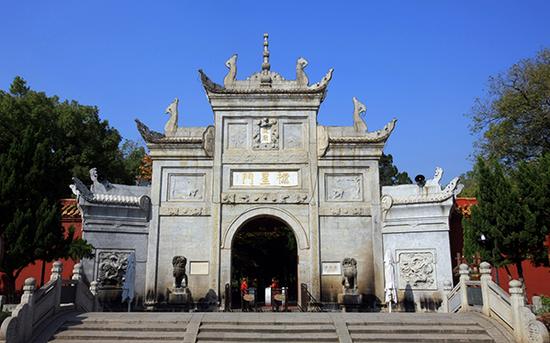 南岳大庙正门-棂星门