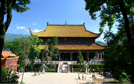 南岳大庙圣帝殿