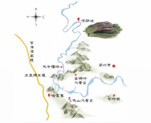 郴州丹霞地貌分布图