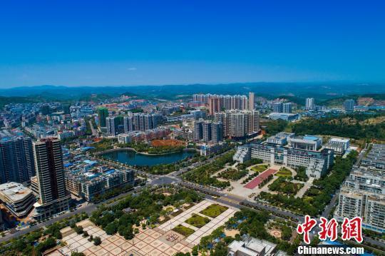 桂阳县城风光。 通讯员 欧阳常海 摄