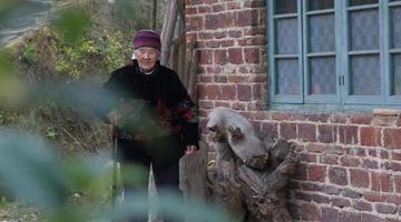 衡阳县101岁老奶奶洗衣做饭扫地样样行