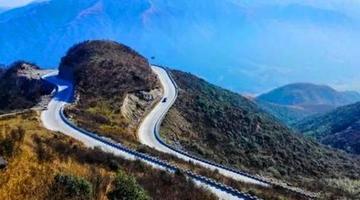 """邵阳两条公路获评湖南""""最美公路"""""""