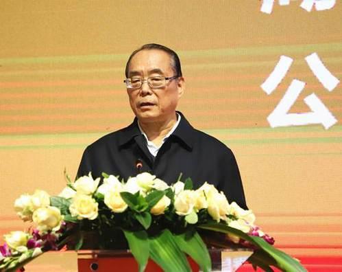 省教育基金会理事长许云昭在开幕式上讲话