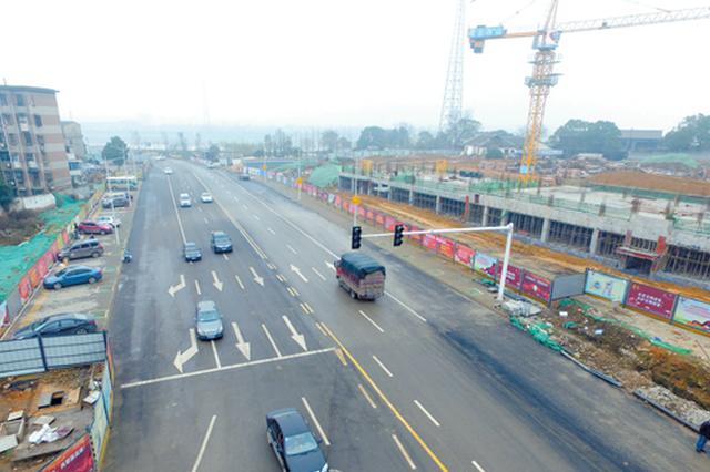 湘潭新马路拓改进展顺利 预计今年4月实现全线通车