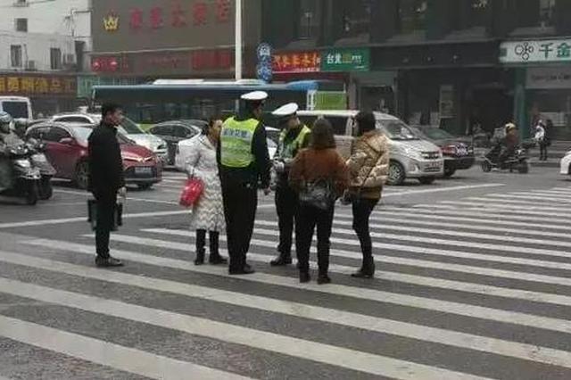 提醒!长沙人注意 行人闯红灯也会被开罚单