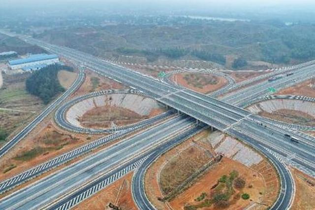 益马高速春节前通车 可缓解长益高速拥堵