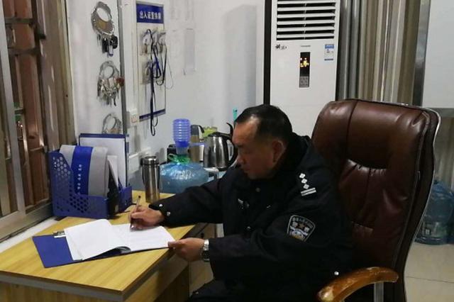 岳阳35年警龄的老警察:站好最后一班岗