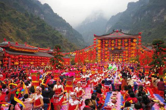 湖南春节接待游客逾2700万人次 成全国热门旅游目的地
