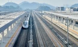渝贵铁路25日开通 长沙最快5小时41分直达重