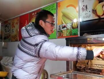 湖大毕业生自主创业卖红薯:只要踏实总有收获