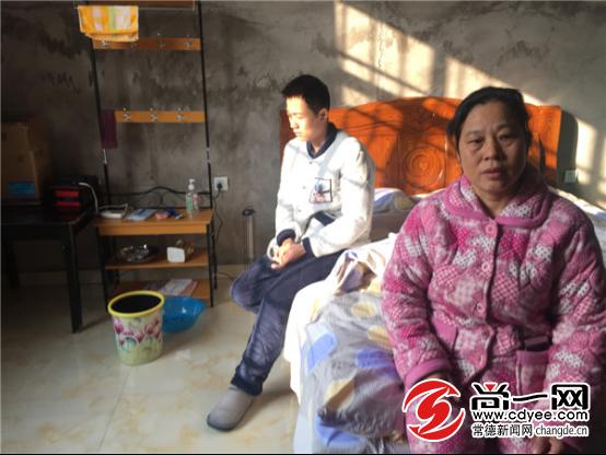 常德男子患病焦急等待肾源 妈妈:救救我的儿子