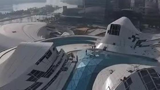 梅溪湖国际文化艺术中心塌方系谣言 为例行调整