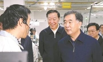 汪洋江苏调研强调攻坚克难打响外贸稳增长攻坚战