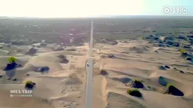 死亡之海 塔克拉玛干大沙漠